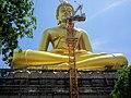Wat Paknam Bhasicharoen large Buddha.jpg