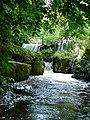 Waterfall below the weir, Dolanog - geograph.org.uk - 509997.jpg