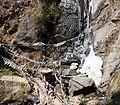 Waterfall close to the Tiger's Nest - Paro Buddhist Taktsang Palphug Monastery sacred site in the upper Paro Valley - panoramio (2).jpg
