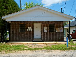 Waverly, Alabama - Image: Waverly, AL Town Hall