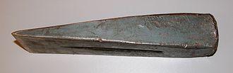 Wedge - A wood splitting wedge