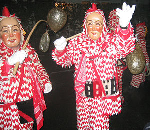 Weingarten, Württemberg - The Plätzler Guild at Carnival