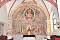 Weitensfeld Zweinitz Pfarrkirche hl Egydius Apsis gotische Fresken 20022013 771.jpg