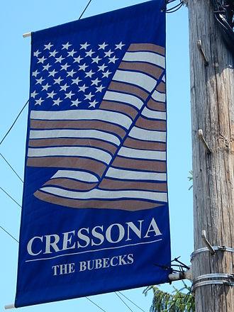 Cressona, Pennsylvania - Welcome Sign