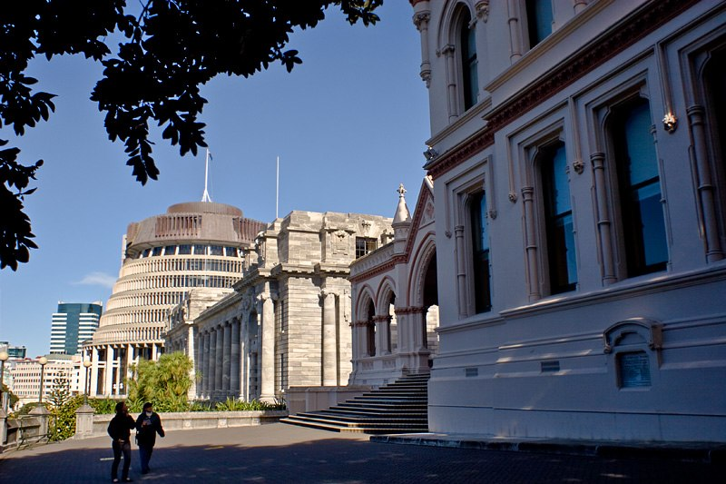 Wellington government parliament library