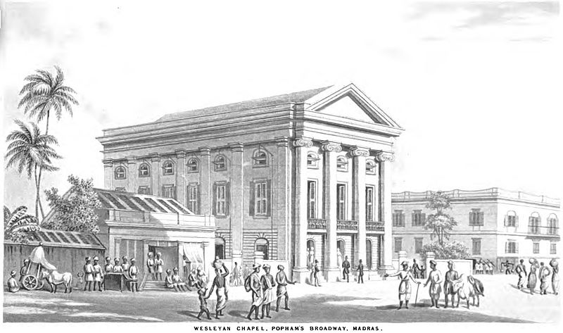 File:Wesleyan Chapel, Popham's Broadway, Madras (January 1848, p.1, V) - Copy.jpg