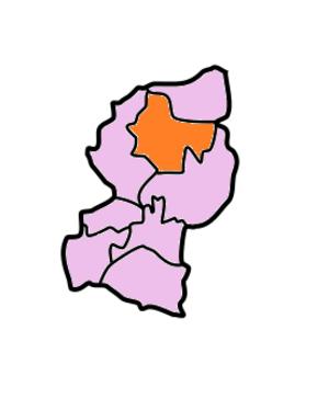 West Garo Hills district - Image: West Garo Hills Subdivisions Dadenggiri
