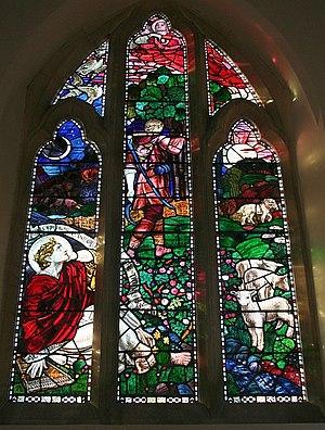 Henry Payne (artist) - Image: West Window, Hook Church geograph.org.uk 685266