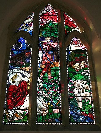 Psalm 104 - Ps104:24 in West Window, Hook Church