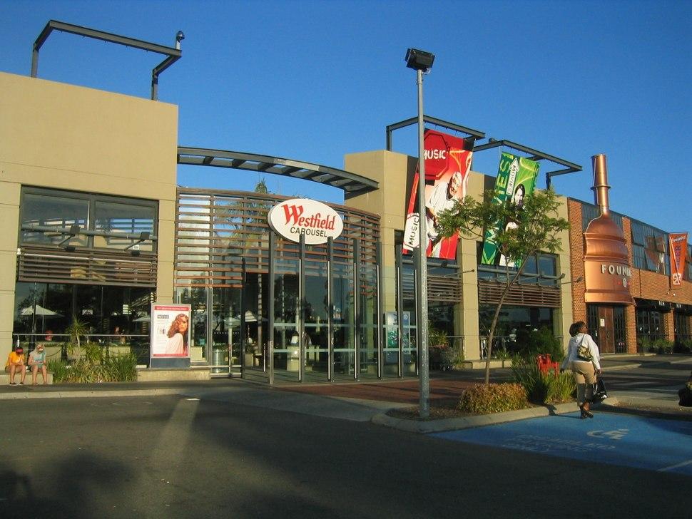 Westfield Carousel entrance