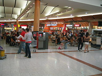 Westfield Carousel - The food court
