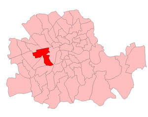 Westminster St George's by-election, 1931 - St George's in London in 1931