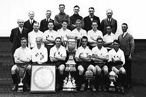 Soccer in Canada - The 1928 Westminster Royals, winners of their first Connaught Cup