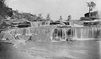 White River (Texas) - Image: White River Silver Falls Texas 1891