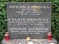 Wiesława Rączkowska - Danuta Rączkowska - Stanisław Rączkowski - Cmentarz Wojskowy na Powązkach (200).JPG