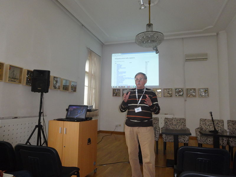 Датотека:WikiLive 2015, Conference day 2, Milorad Dimić, 02.JPG