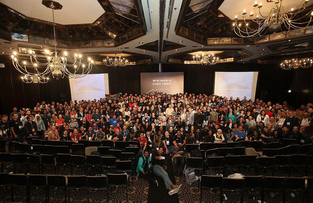 Wikimania 2018 group photograph