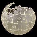Wikipedia Globe translucent 3D printed black background.jpg