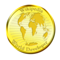 Wikipedia World Developer Medallion.png
