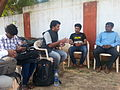 Wikipedians discussing with members of Bidar photography society 2.jpg
