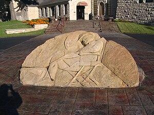 Will Rogers Memorial - Image: Will Rogers Memorial Sculpture