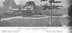 Andrew Willatsen - Image: Willatzen&Byrne Clarke House Highlands 1909 01