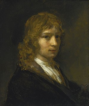 Willem Drost - Willem Drost self-portrait.