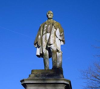William Rathbone V - Statue in Sefton Park
