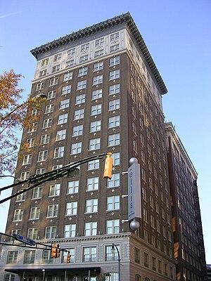 William Lee Stoddart -  Winecoff Hotel (now Ellis Hotel), Atlanta, Georgia