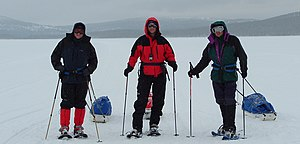 Winter hiking in Finland 2007.JPG