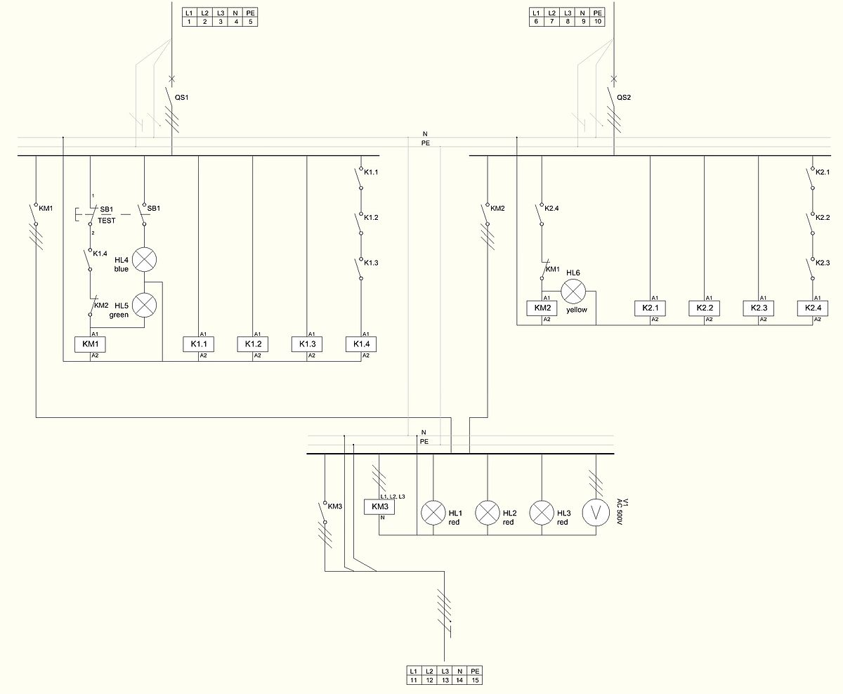 Transfer Switch Wikipedia Simple Push Button Wiring Diagram