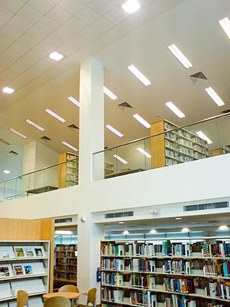 Millennia Institute - The library of Millennia Institute