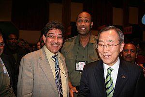 With the Secretary-General Ban Ki-moon
