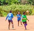 Women in sport playing football 05.jpg
