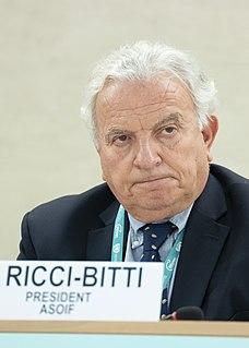 Francesco Ricci Bitti Italian sports administrator (born 1942)