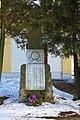 World War II memorial in Kamenice, Jihlava District.jpg