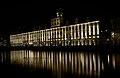 Wrocław University Main Building at night.jpg