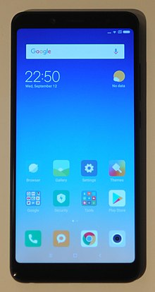 Redmi Note 5 Wikipedia