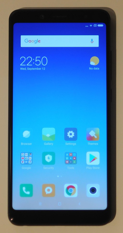 XiaomiRedmiNote5front