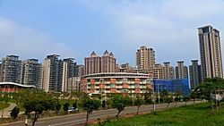 Skyline of Zhubei