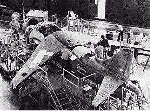 McDonnell Douglas AV-8B Harrier II - Image: YAV 8B construction NAN11 78