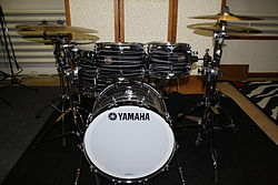 yamaha drums. club custom drum kit. yamaha drums