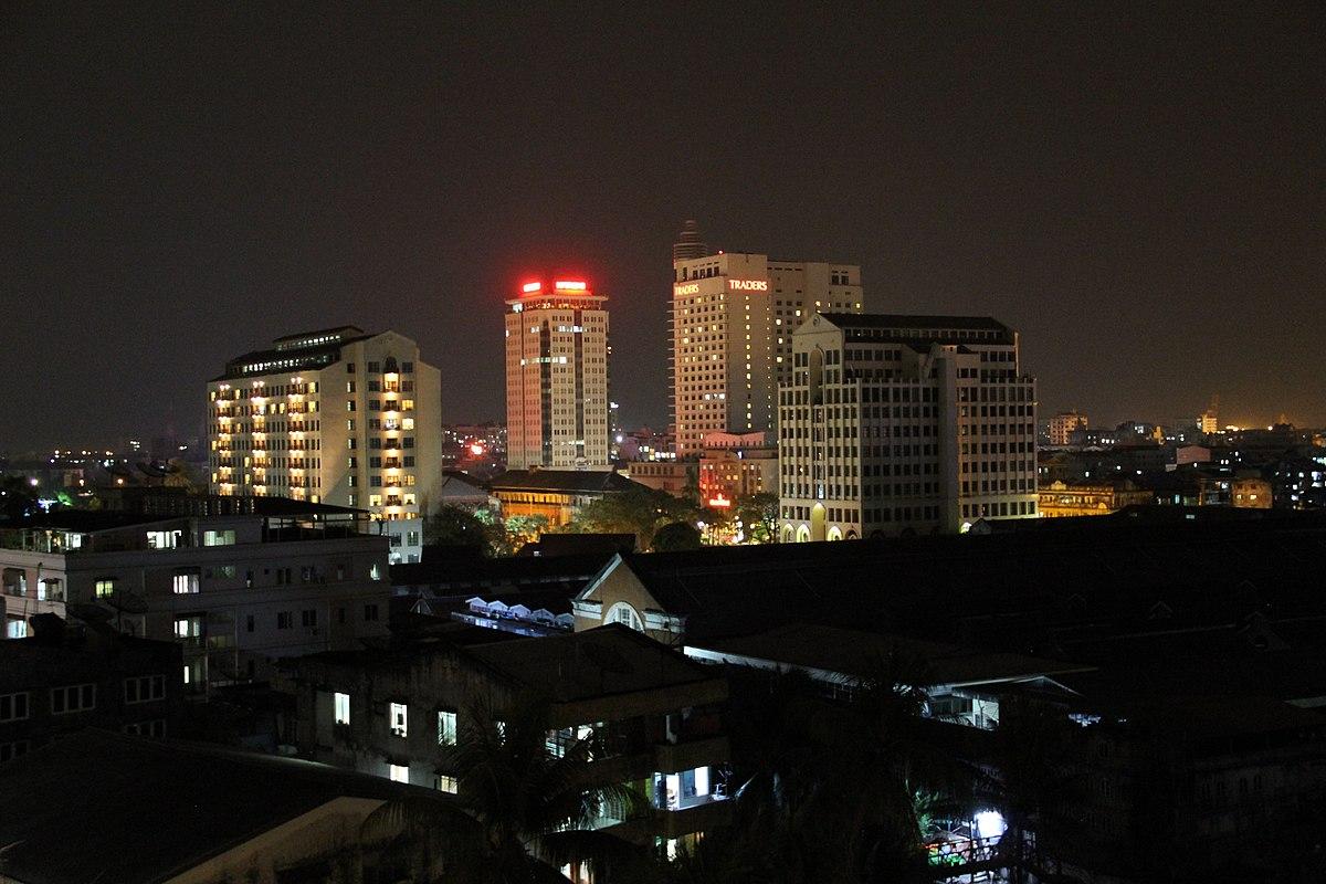 Downtown Yangon Wikipedia