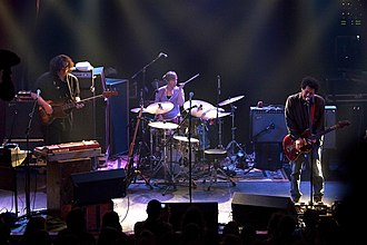 Yo La Tengo - Yo La Tengo performing in 2010. From left to right: McNew, Hubley, and Kaplan