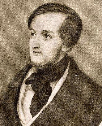 Die Hochzeit - The composer, c. 1830