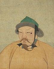 Painting of Ögedei Khan