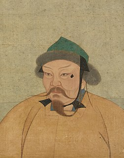 second Great Khan of the Mongol Empire