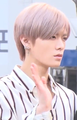 Yuta Nakamoto going to a Music Bank recording in March 2018 01.png
