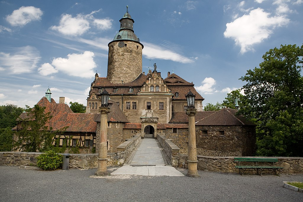 Zamek Czocha front