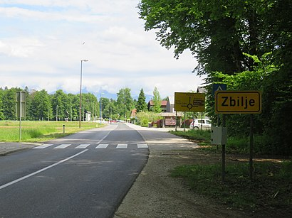 How to get to Zbilje with public transit - About the place